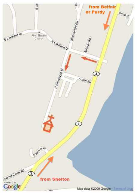 St. Hugh Map